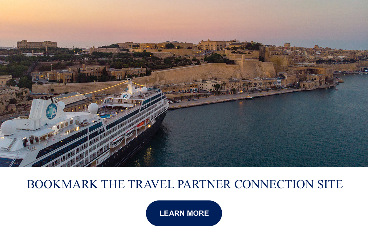 Bookmark the Travel Partner Connection Site  Learn More